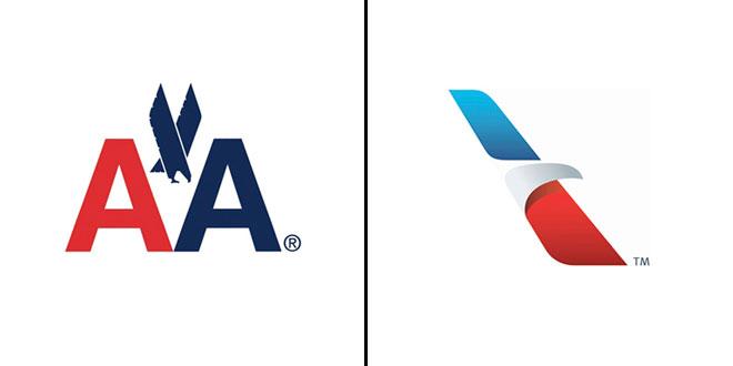 Rebranding de la marca American Airlines.