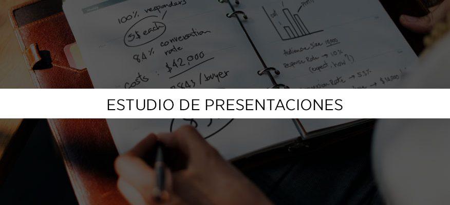 III Estudio de Presentaciones Empresariales, necesitamos tu ayuda